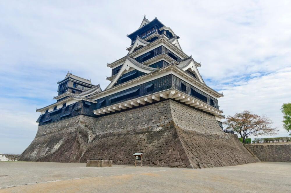 Castillo de Kumamoto ante de los terremotos