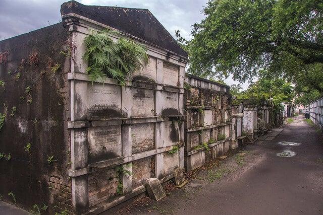 Cementerio Lafatette en Nueva Orleans