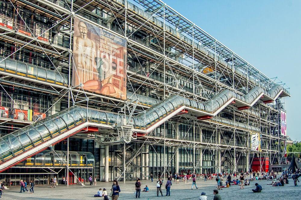 El Centro Pompidou de París y sus obras principales