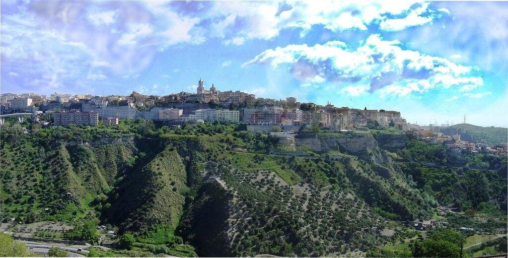 Vista de la ciudad de Catanzaro