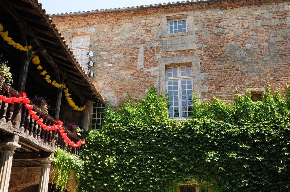 Claustro de Recocllets en la Dordogne