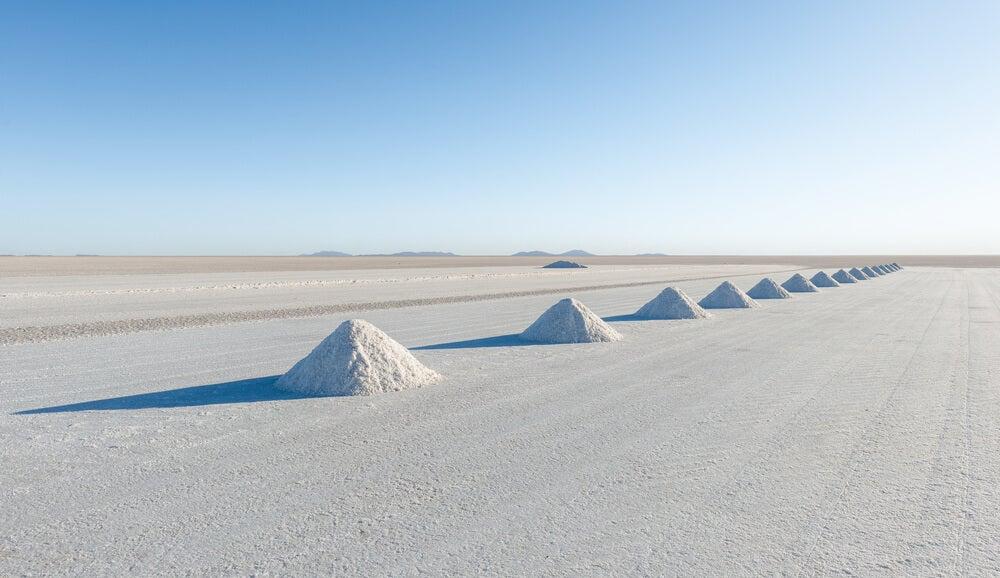 Extracción de sal en Colchani