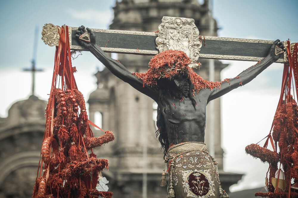 Procesión del Señor de los Temblores de Cuzco