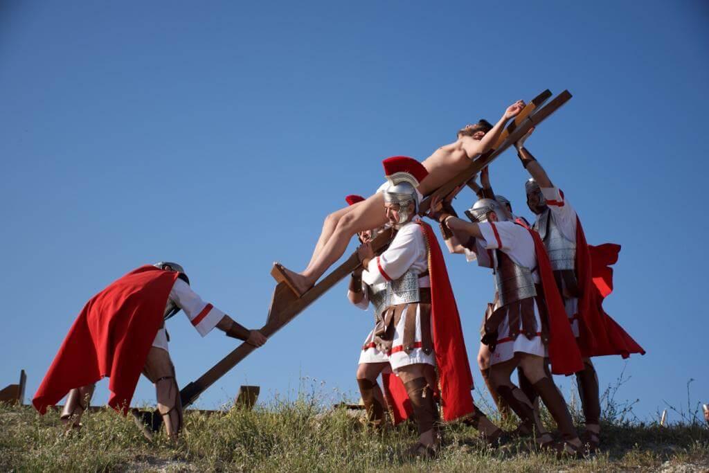 Representación de la Crucifixión