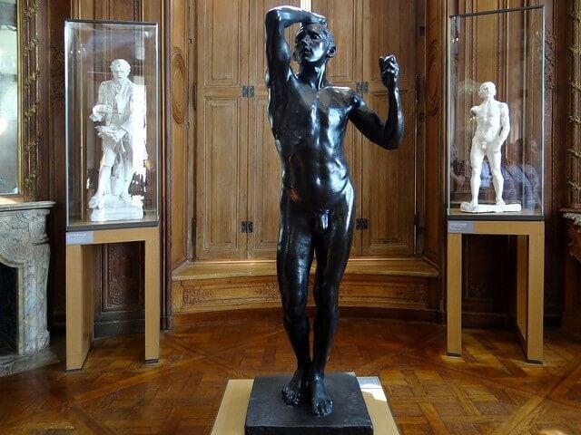 """""""La edad de bronce"""" de Rodin"""