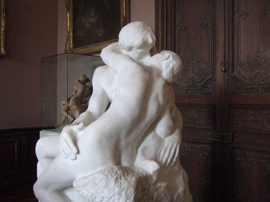 """""""El beso"""" de Rodin"""