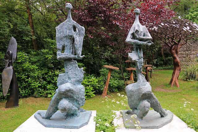 Parque de esculturas de Farnham: disfrutar del arte en familia