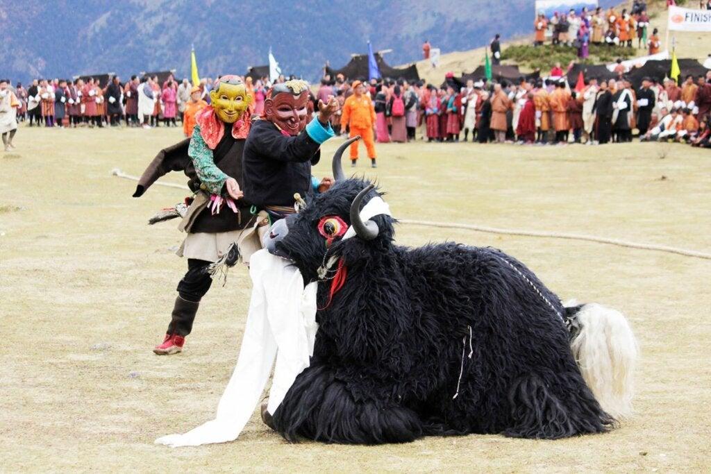 Festival de Highlander de Bután: conocido como el país más feliz de la tierra