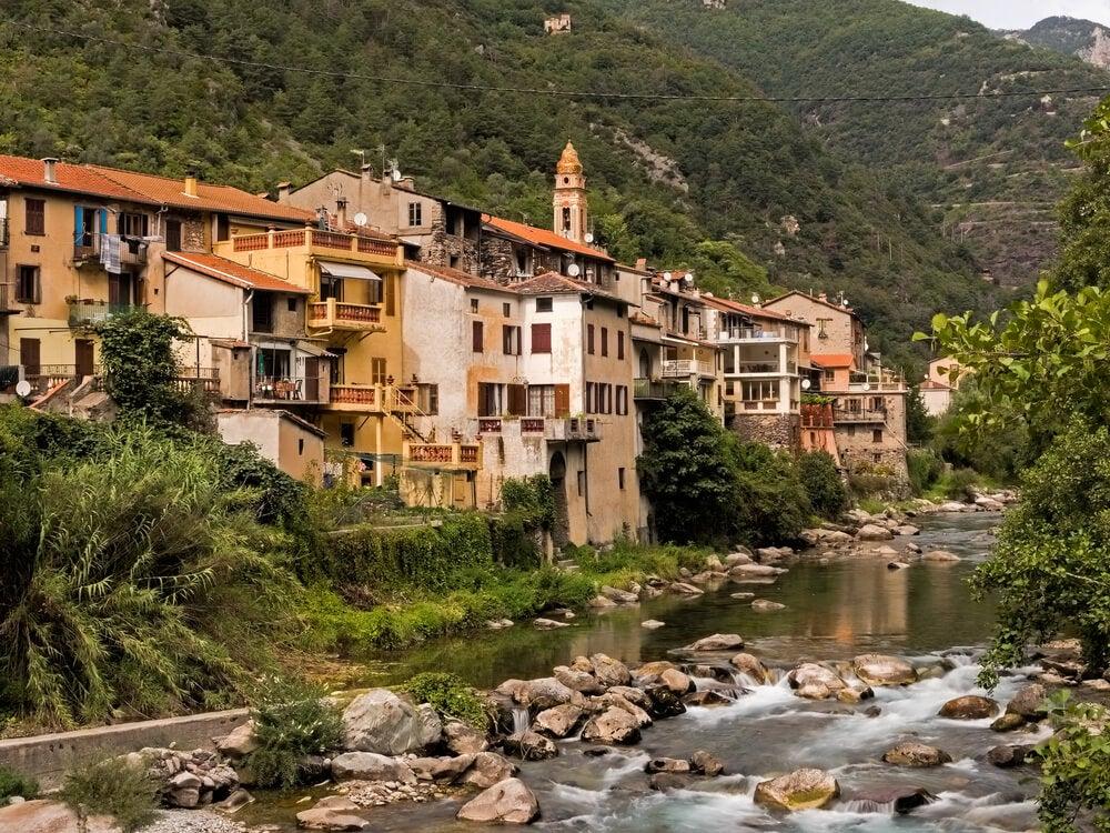 Vista del pueblo de Fontan