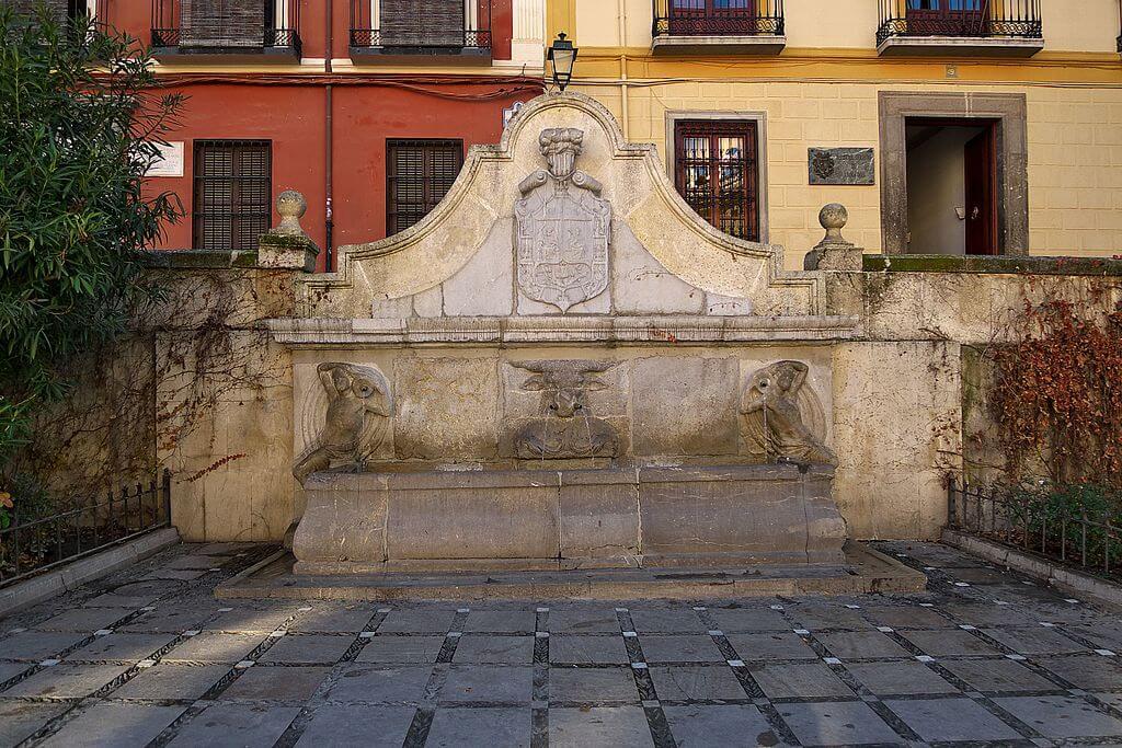 Pilar del Toro una de las fuentes de Granada más bonitas