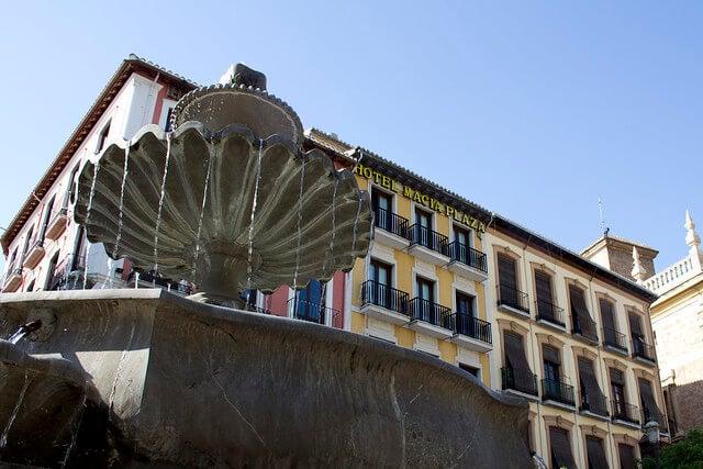 Fuente de la Plaza Nueva de Granada