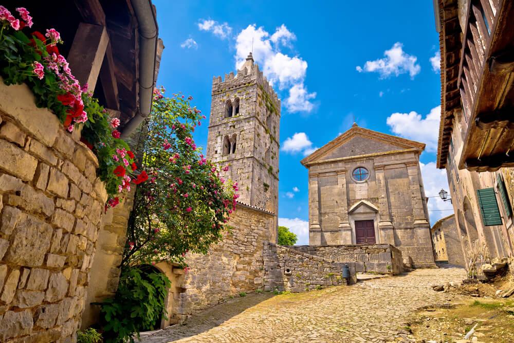 Calle de Hum en la Toscana de Croacia