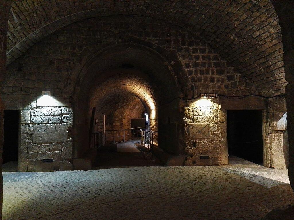 Interior de la fortaleza de Dresde