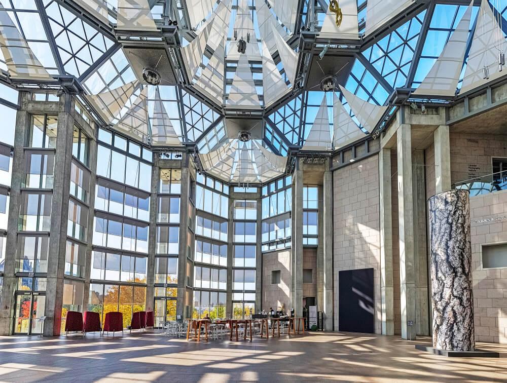 Interior de la Galería Nacional de Canadá