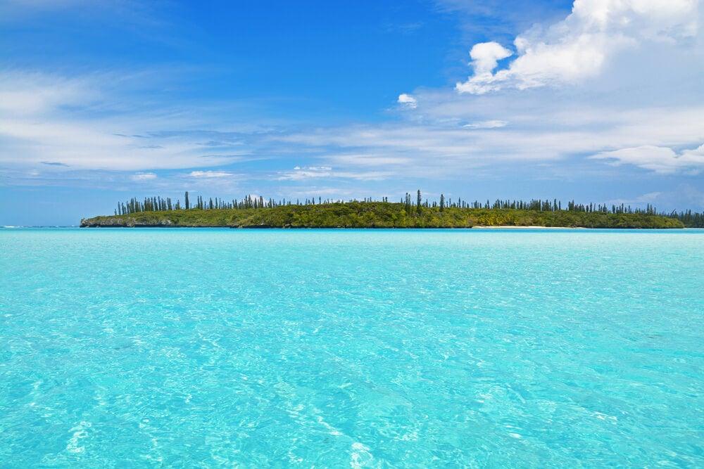 Vista de la isla de los Pinos