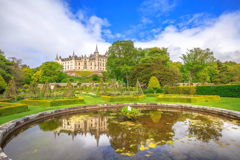 Jardines del castillo de Dunrobin