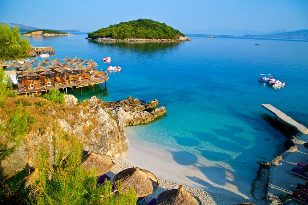 Ksamil, una de las playas más bonitas de Albania