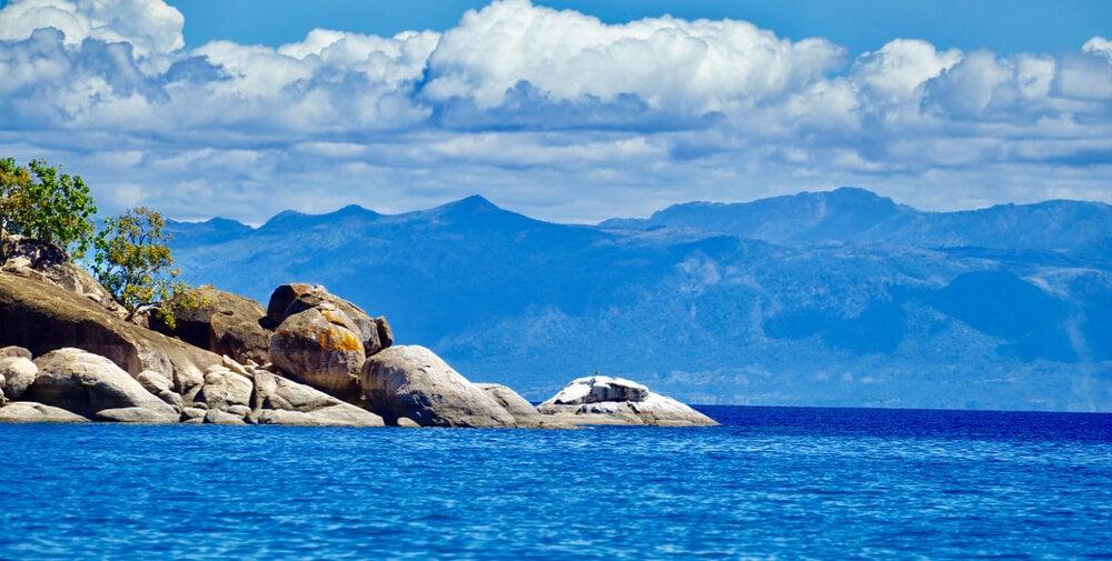 Vista del lago Malaui