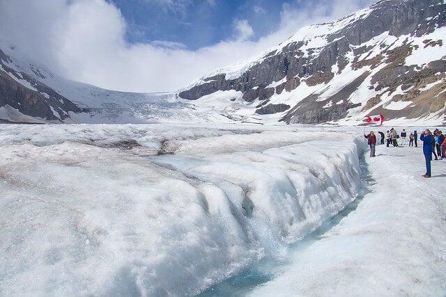 Lengua del glaciar Athabasca
