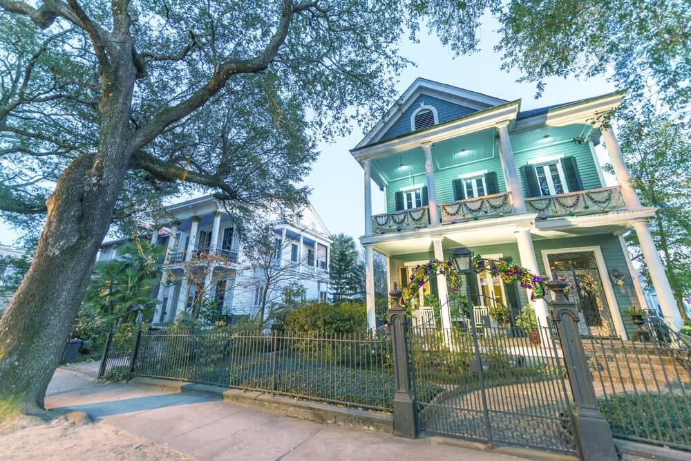 Un recorrido por el distrito Jardín de Nueva Orleans