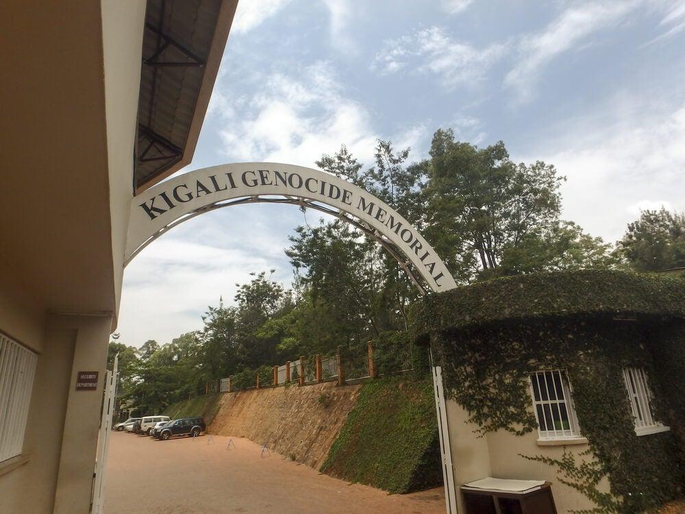 Memorial en recuerdo del genocidio en Kigali