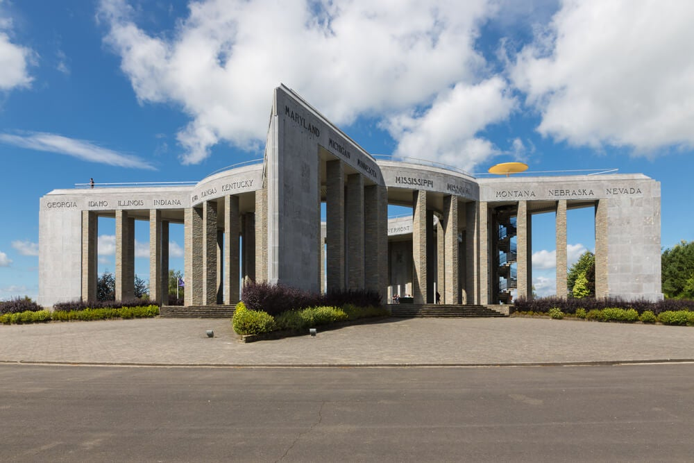 Memorial de la Segunda Guerra Mundial en Bastogne