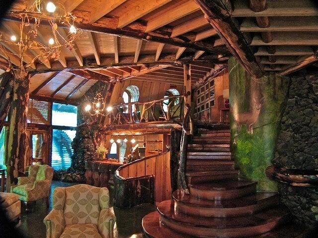 Interior del Montaña Mágica Lodge