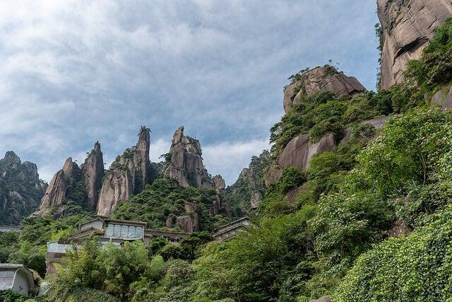 Monte Sanqingshan en China, un lugar con energías misteriosas