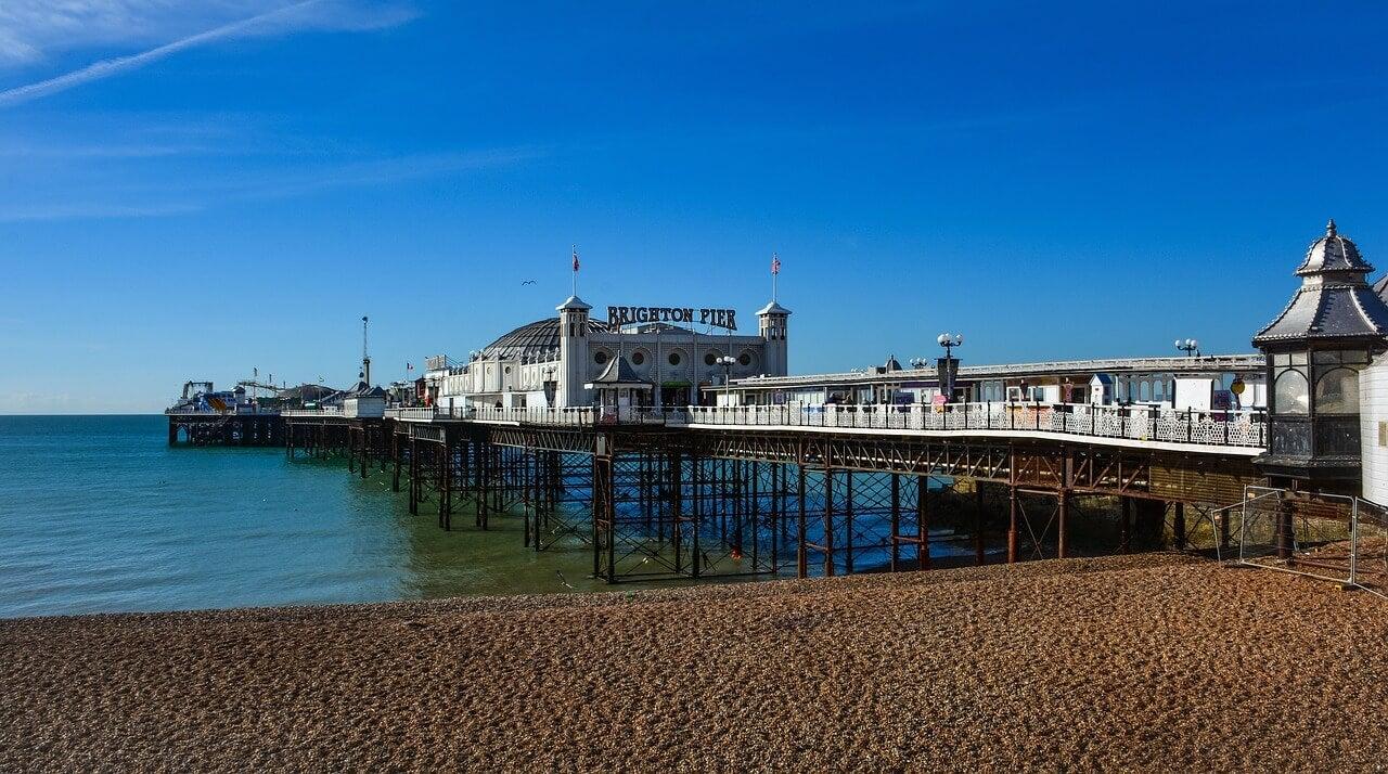 Muelle de Brighton en Inglaterra