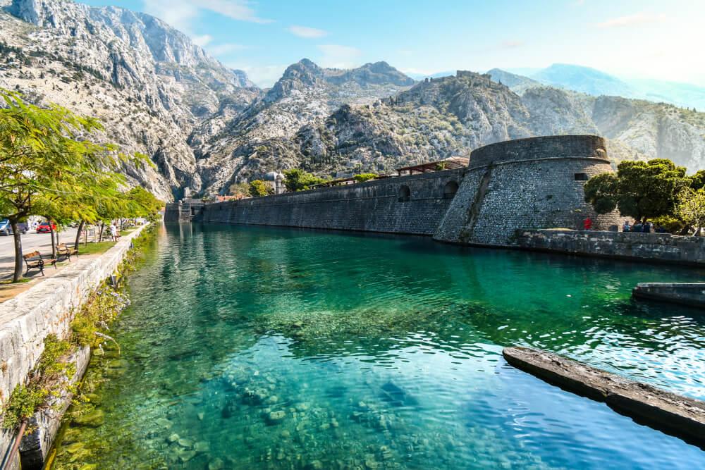 Muralla de Kotor en Montenegro