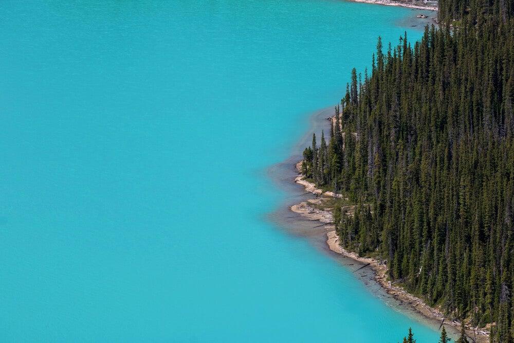 Aguas del lago Peyto