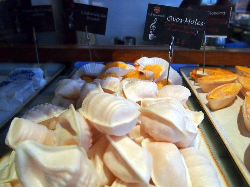 Plato de ovos moles