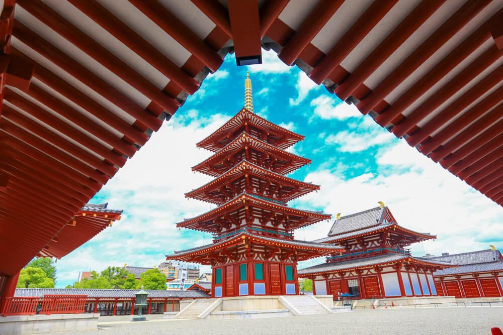 Shitennoji e Isshinji, dos templos budistas en Osaka