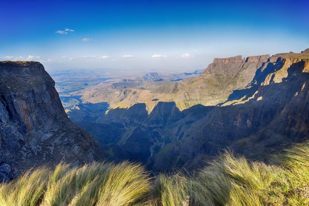 Paisaje de Drakensberg