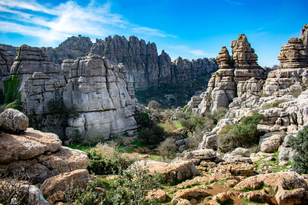 El Torcal, una de las montañas kársticas más bellas