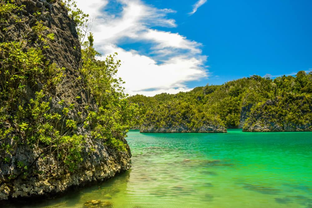 Vista de la isla Pianemo