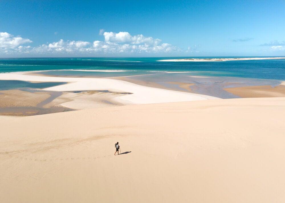 Playas de la isla Barazuto en Mozambique, uno de los destinos subestimados