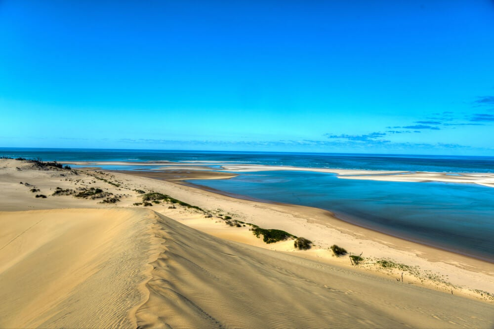 Playa en Bazaruto