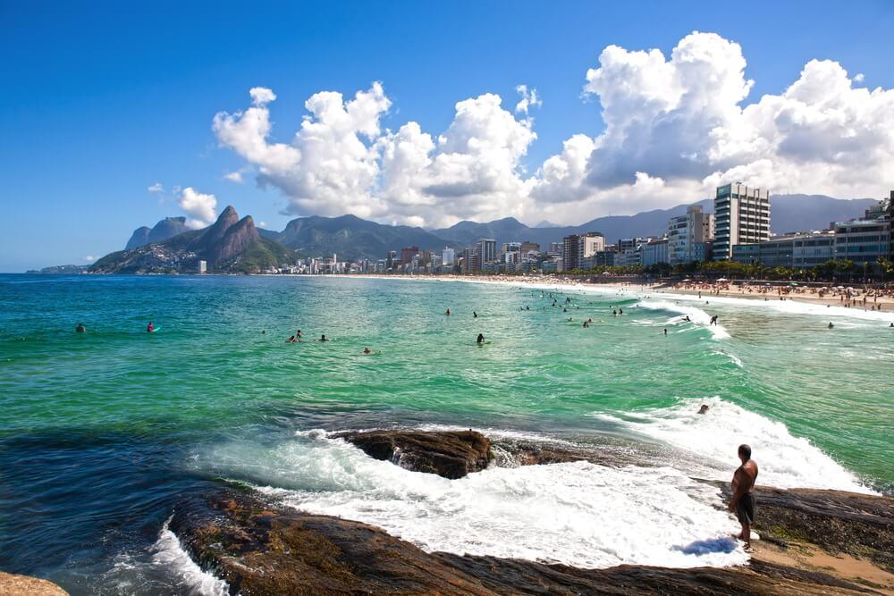 Leblon, una de las mejores playas de Río de Janeiro