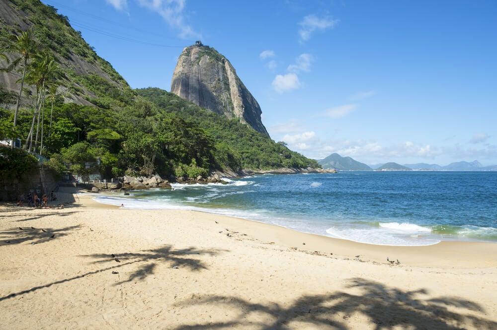 Playa Vermelha en Río de Janeiro