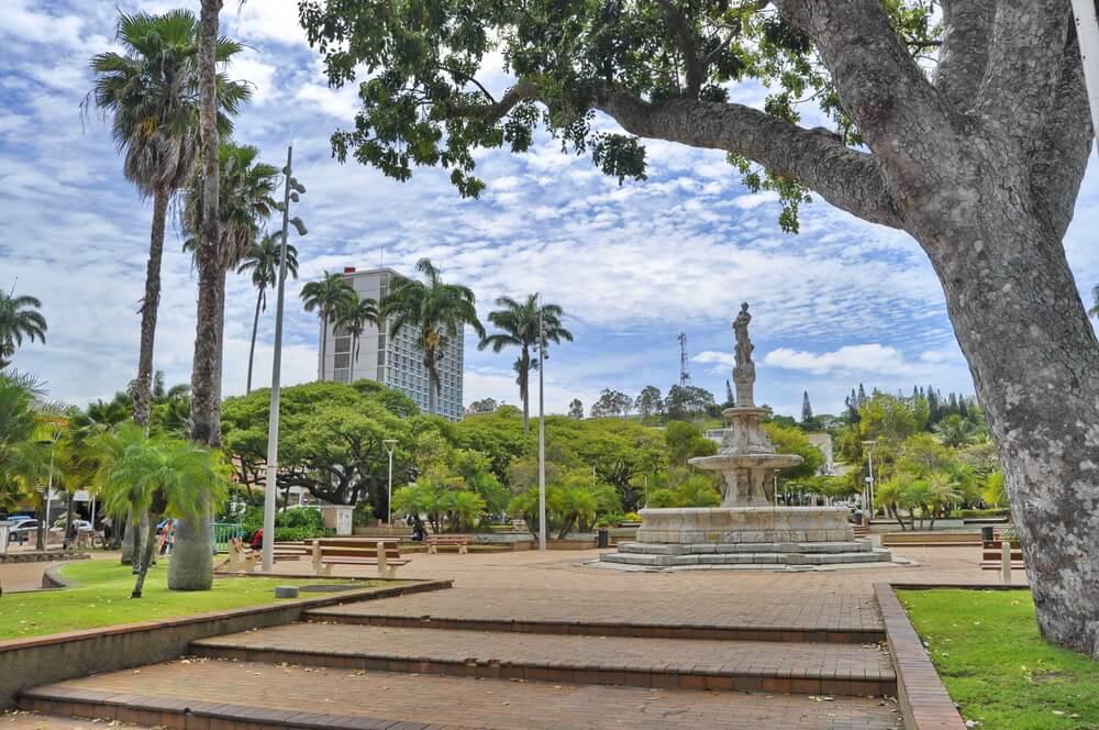 Plaza de los Cocoteros de Noumea