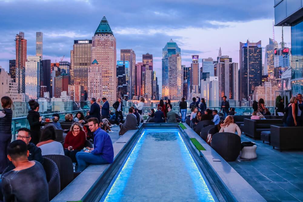 Los rooftops más animados de Nueva York