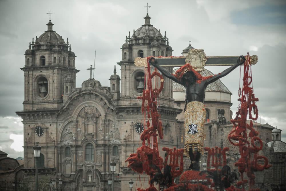La procesión del Señor de los Temblores de Cuzco