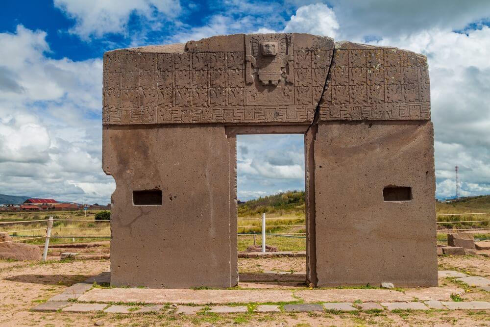 Puerta del Sol en Tiahuanaco