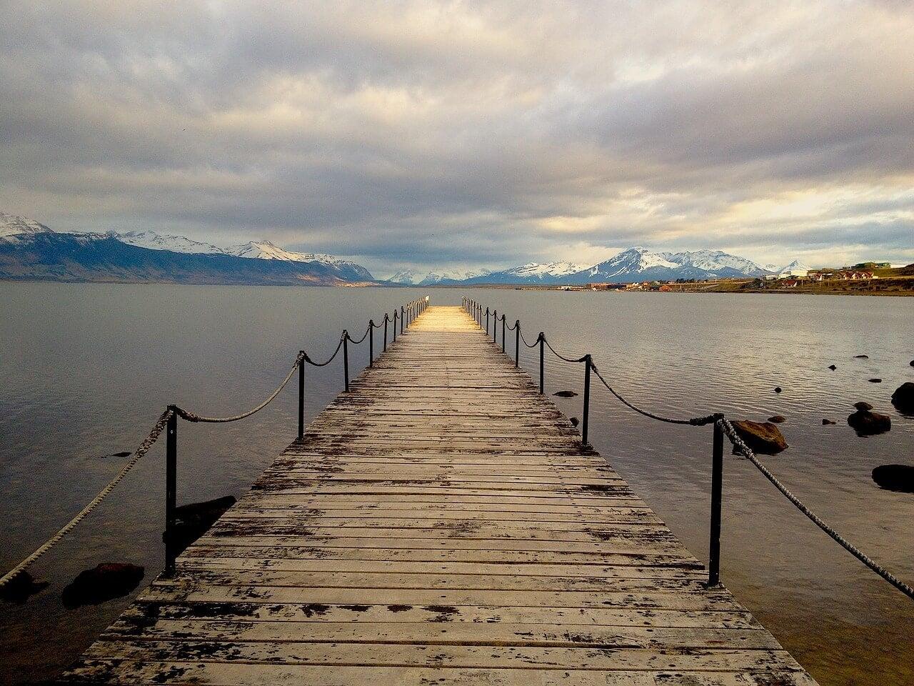 Muelle en Puerto Natales