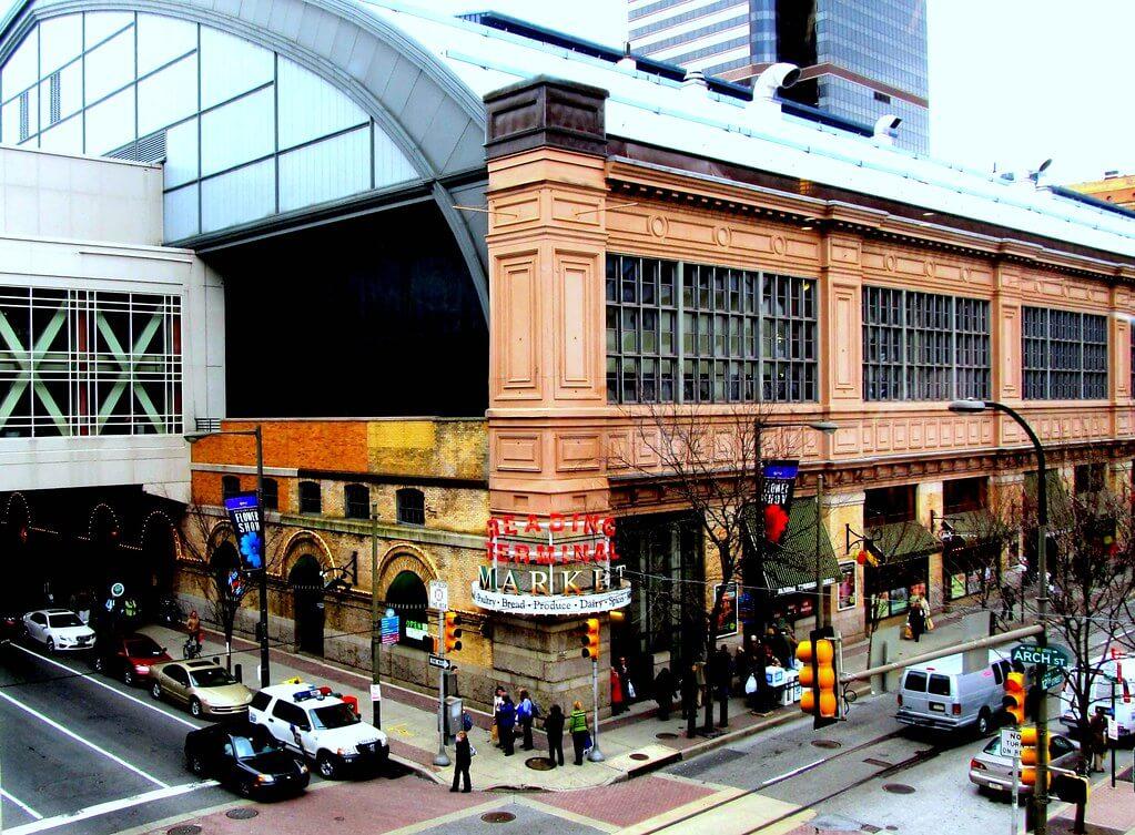 Reading Terminal Market, una de las cosas que ver al viajar a Filadelfia