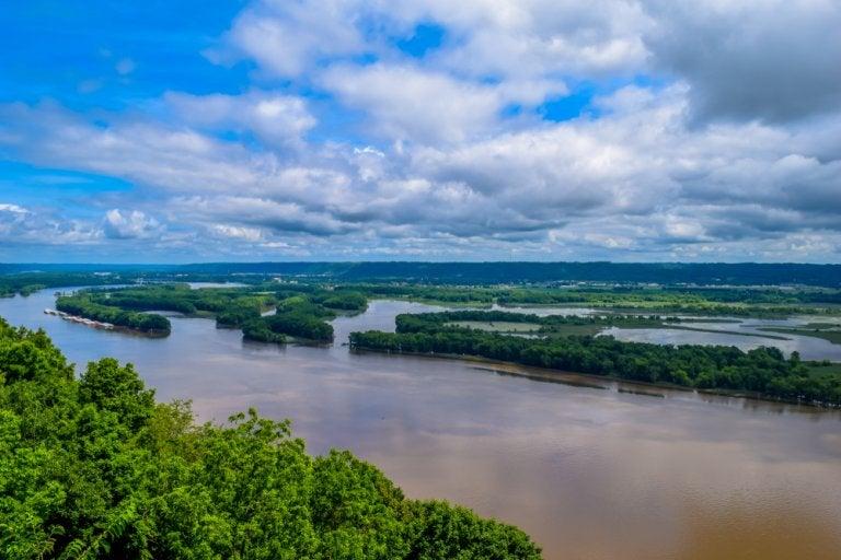 Datos geográficos sobre la cuenca hidrográfica del Mississippi