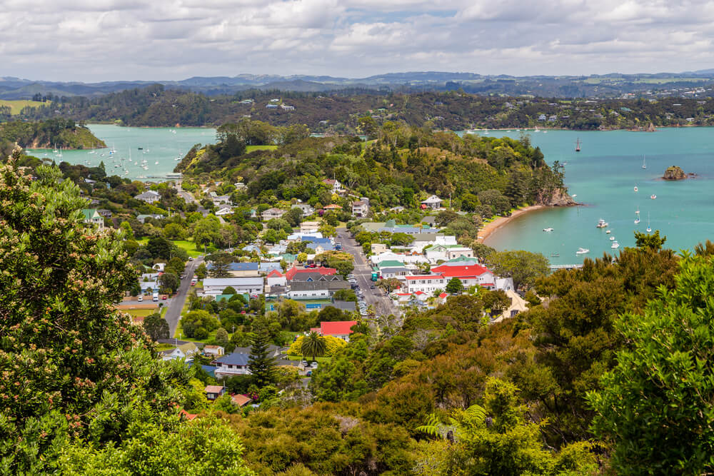 Planes para disfrutar de Russell, en Nueva Zelanda