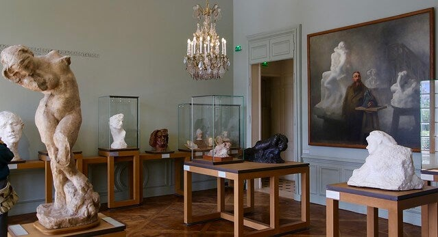 Sala del Museo Rodin