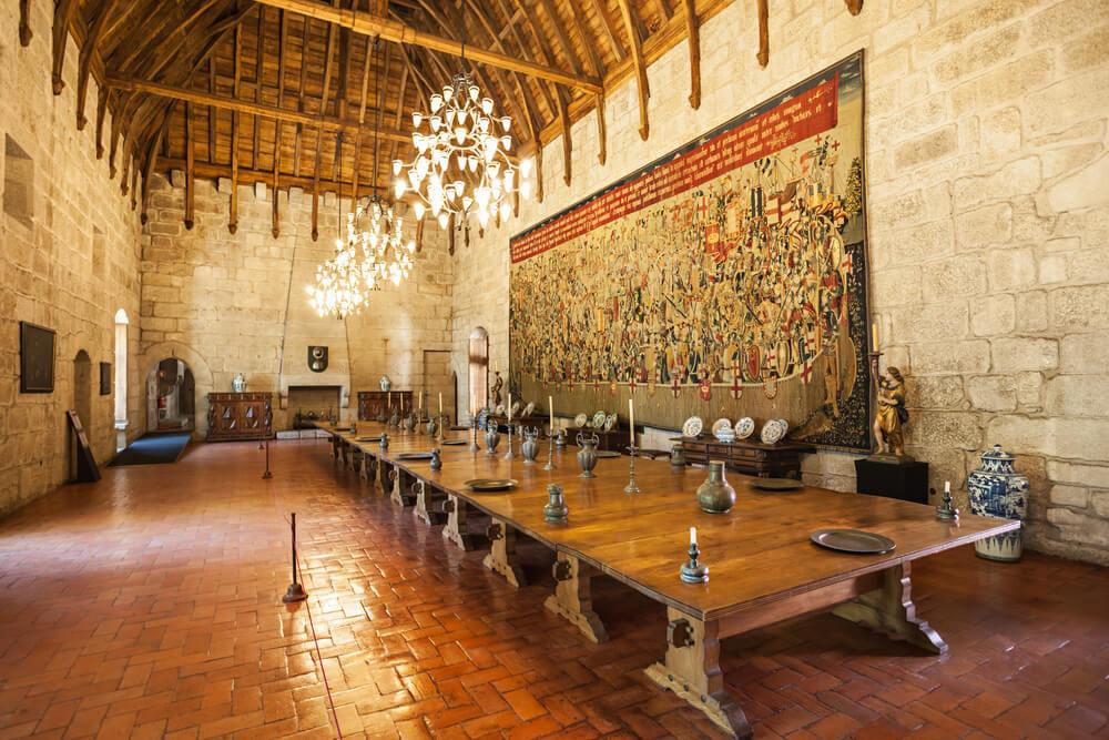 Salón de banquetes del palacio